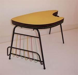 Table Basse 3 Plateaux En Forme De Palette 39 La Tripale