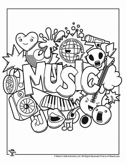 Coloring Worksheets Printable Kawaii Woo Jr Activities