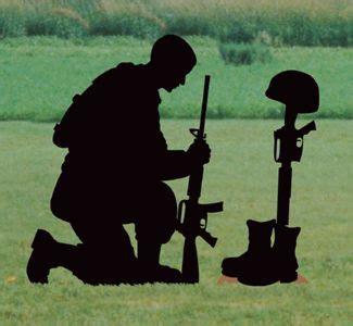 fallen soldier shadow woodcrafting pattern  kneeling