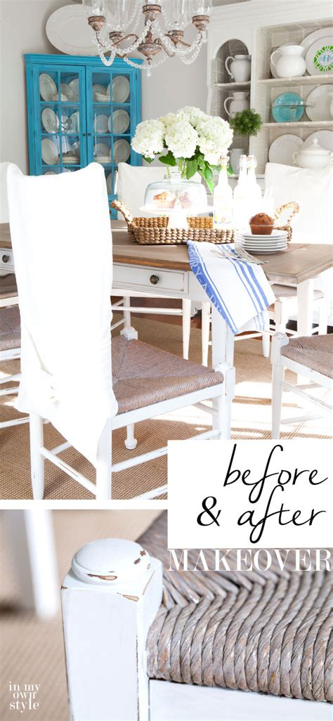 part 2 dining room chair makeover in my own style