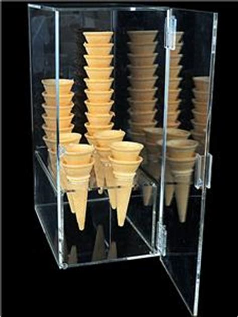 ice cream cone holder cabinet ice cream cone acrylic display cabinet holds up to 60