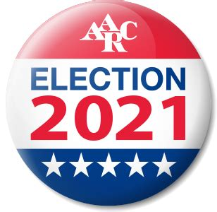 The following elections are scheduled to occur in 2021. AARC Election 2021 — John Lindsey - AARC