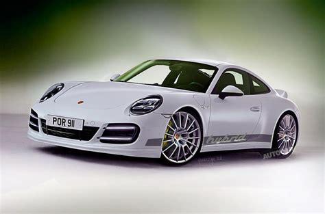 electric porsche 911 petrol electric porsche 911 hybrid due in 2018 autocar