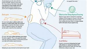 the perfect sleeping positions to fix common body problems With best way to sleep for back