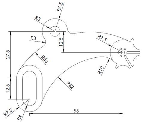 home design cad software 20 days of 2d autocad exercises 19 12cad com