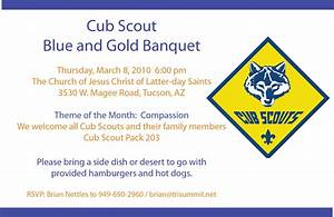 6 best images of blue and gold banquet template cub With cub scout blue and gold program template