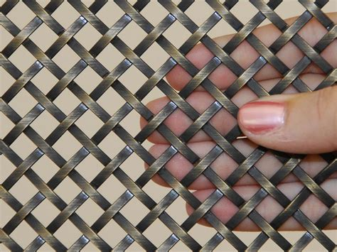 decorative wire mesh panels wire mesh side board and cabinentry