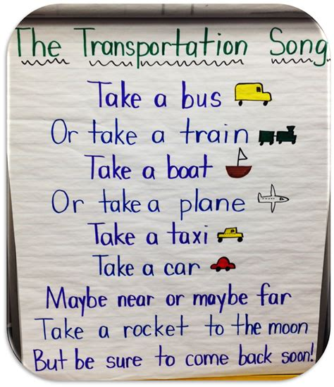 mrs s klass five for fri let s be honest 199 | transportation song.JPG