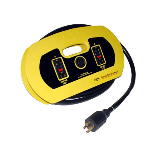 home depot l cord dek 10 4 240v l14 30 universal generator cord g08510 the