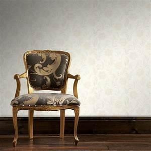 Jacquard Floral White Wallpaper by Graham & Brown 32