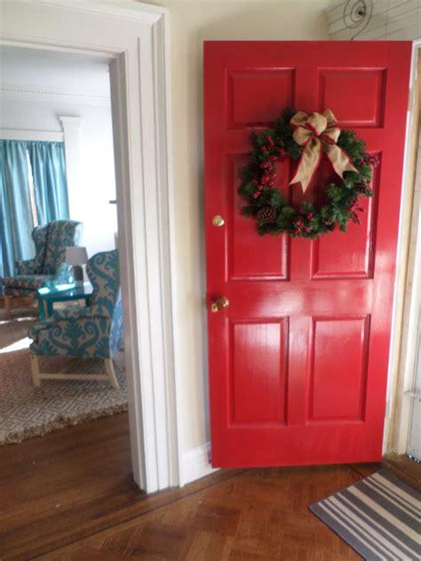 exterior front door  painted benjamin moore aura grand entrance  dutch tulip high gloss