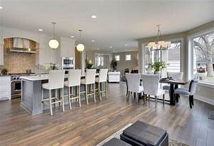 30 Open Concept Kitchens Pictures Of Designs Layouts