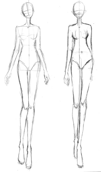 fashion sketch template fashion illustration fashion croquis