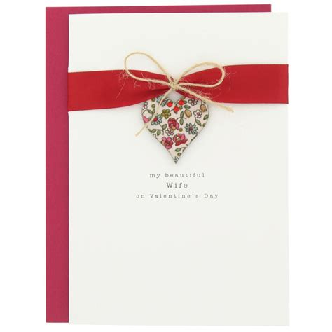 Turn things up a notch this coming february 14th with our unique valentine's day gifts. wife heart valentine's card from Paperchase   Stationery ...