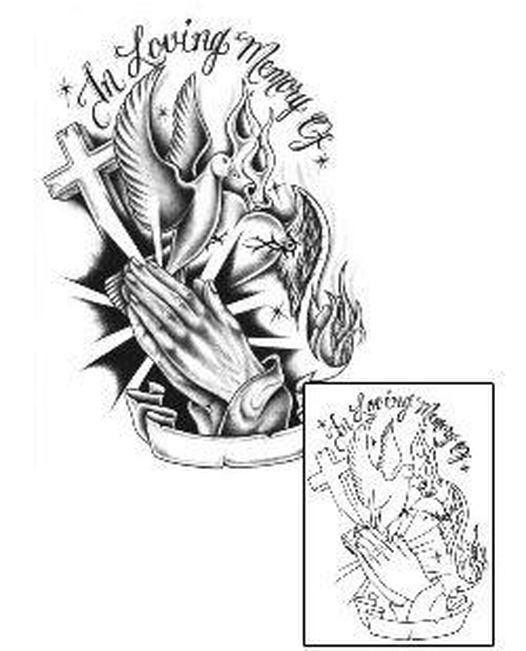 tattoo johnny praying hands tattoos