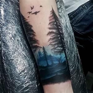 Top 59 Forearm Tree Tattoo Ideas