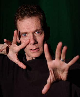 doug jones hands slice of the blog pie behind the zombie doug jones