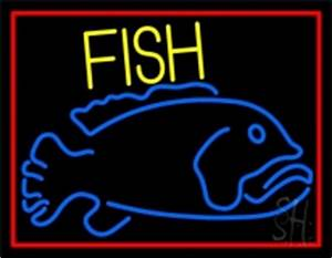 Fish Neon Signs Every Thing Neon