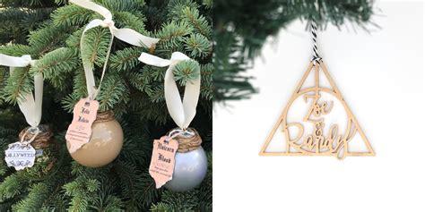 harry potter ornaments  christmas trees