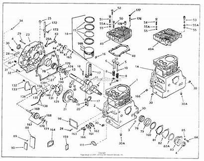 Parts Engine Diagram Tecumseh Sbh Cycle Horizontal