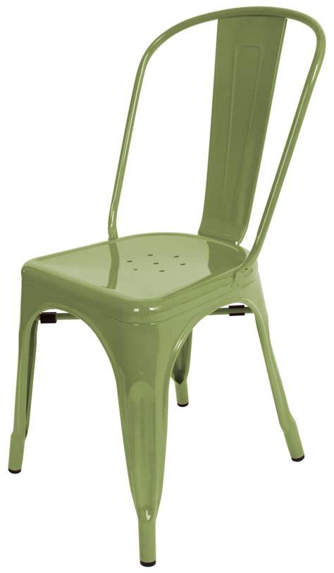 marais metal dining chair green marais tolix chair green