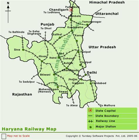 haryana railwaymap  haryana railwaymap  haryana
