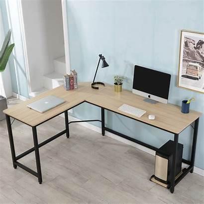Desk Computer Shaped Gaming Shape Office Desks