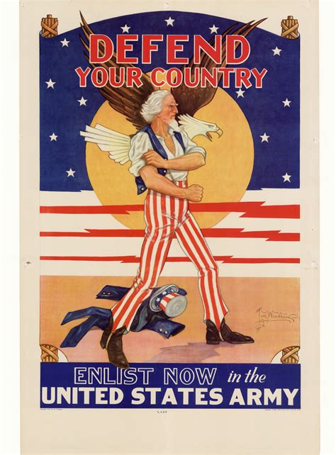 defend your country enlist now in the united states army digital library