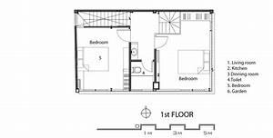 Casa económica moderna de 50 metros cuadrados Construye