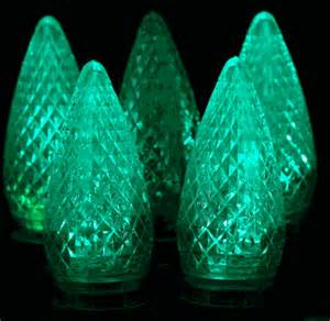 twinkle c9 led green replacement christmas lights novelty lights inc