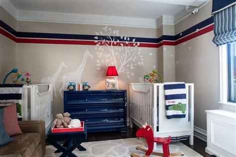 pat re chambre b b gar on décoration chambre bebe garcon bleu