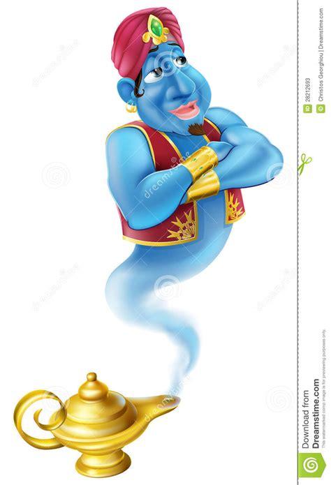 friendly jinn or genie and magic l stock photos image 28212693