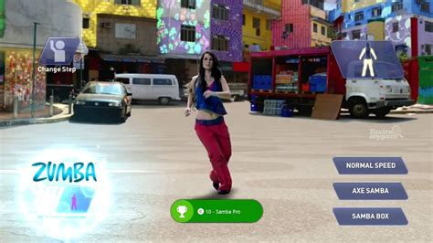 xbox fitness zumba party game