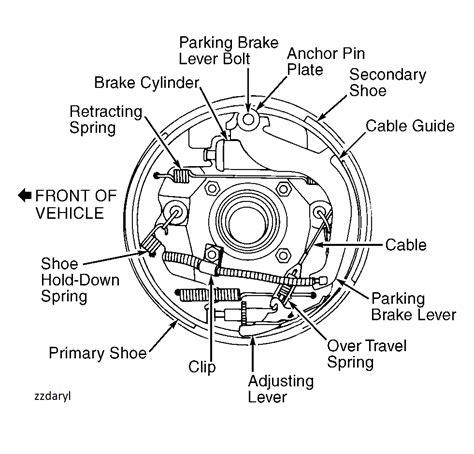 1998 Ford Ranger 4x4 Diagram by 98 Ranger Rear Brake Diagrams None Match Mine 4x4 6 Cy