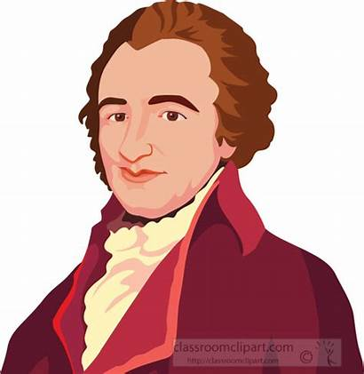 Thomas Father Paine Clip Founding Graphic Clipart