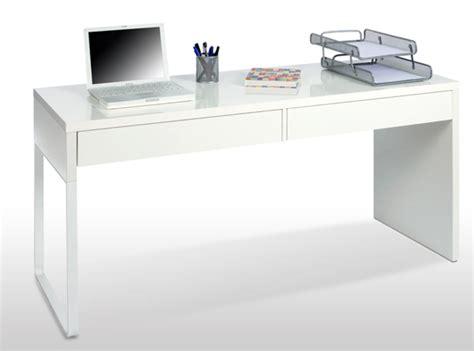 bureau blanc brillant bureau touch blanc brillant