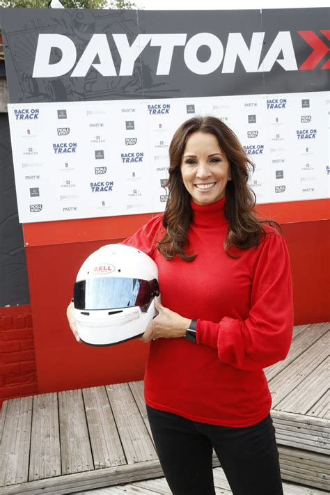Andrea McLean at The Daytonna Race Track in London 09/23 ...