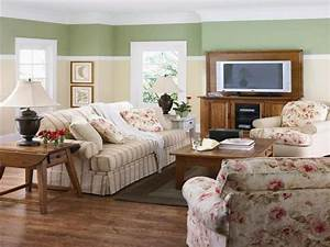 Vintage style decorating ideas, country liveing room ...