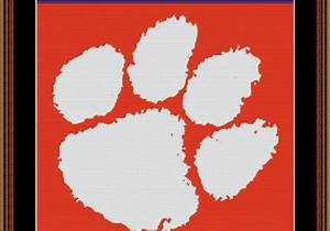 Reasons To Live Template Ncaa Sports Outlet Clemson Cross Stitch Pattern