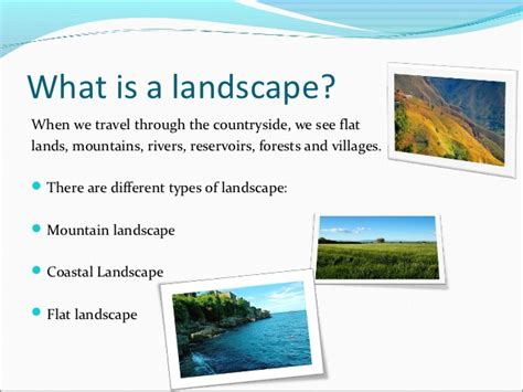 what is landscapping discovering the environment the spanish landscape