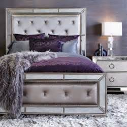 Purple And Silver Bedrooms by 36 Chic And Timeless Tufted Headboards Shelterness