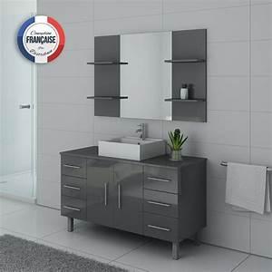 Meuble Simple Vasque : ensemble de salle de bain simple vasque sur pieds ref turin gt ~ Teatrodelosmanantiales.com Idées de Décoration