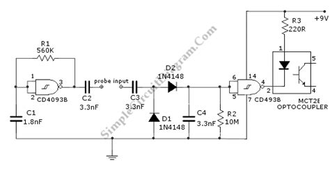Water Level Sensor Detector Circuit Diagram World
