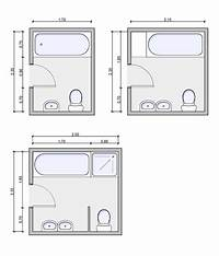 bathroom floor plan Types of bathrooms and layouts