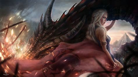 Daenerys Targaryen Full Hd Wallpaper And Background