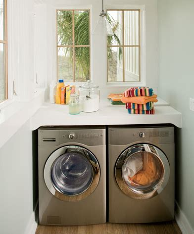 washer and dryer countertop wrapped in raffia washer and dryer countertop