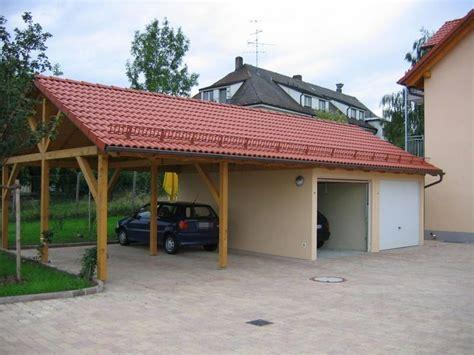 garage und carport kombination kombination aus garage und carport in berlin und brandenburg