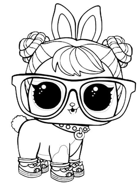 desenhos  colorir da boneca lol surpresa como fazer