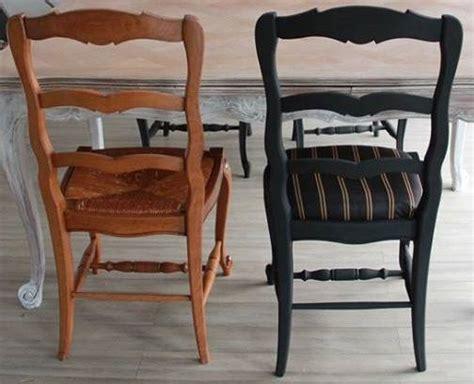 relooker chaise paille relooking chaises avant après francine declerck
