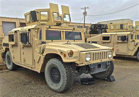 Hmmwv M1114 Uah (up-armored Humvee) Here In